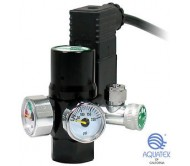 Aquatek CO2 Regulator with integrated solenoid for paintball tank