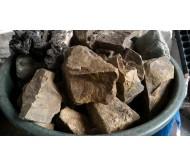 Chocolate Stone por kilogramo - Roca para acuario neutra